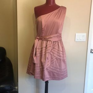 NWT Jessica Simpson One Shoulder Mani Dress.